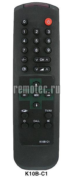 Пульт Rolsen (Ролсен) EN-21662B. подходит к следующей аппаратуре: телевизор Rolsen C1410 телевизор Rolsen C1420...
